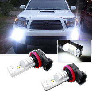 For 2012 2018 Toyota Tacoma H11 H8 Luxen Led Fog Light Super Bright 6000k White
