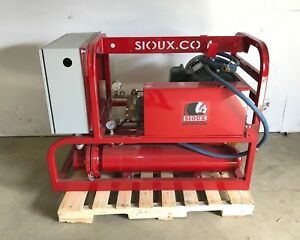 Sioux Corp En 345 h4 3000 Hot Water Pressure Washer 3000 Mawp 15hp