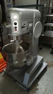 Hobart 60qt Mixer H 600 stainless Bowl Hook Attachments 90 Day Warranty
