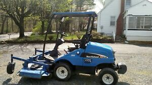 New Holland Mc 22 Commercial Diesel Zero Turn 74 Mower Compact Tractor