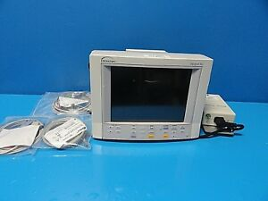 Datascope Passport Xg Colored Patient Monitor W New Nbp Ekg Spo2 Leads 14651