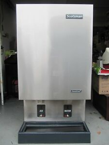 Scotsman Mdt5n40a 1j Touch Free Ice Maker Dispenser Nugget Ice Working Condition
