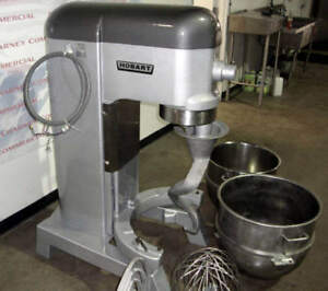 Hobart 80qt Mixer L800 s s Bowl Hook Whip Paddle 90 Day Warranty