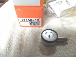 Mitutoyo 1925b Dial Indicator 0 025 Range New In Box Made In Japan