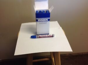 Dykem 44534 Blue Industrial Paint Marker Box Of 12