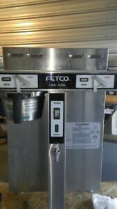 Fetco Cbs 52h15 Twin Coffee Brewer