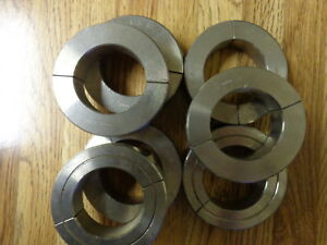 1 3 4 Double Split Shaft Collar Stainless Steel Lot Of 4 New