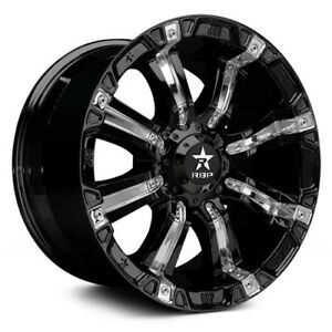 18x10 Black 94 r 94rbp 6x135 0 Nitto Trail Grappler 285 65r18 Rims Tires