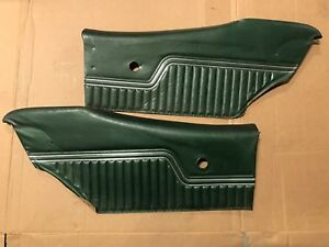 1970 1972 Chevelle Malibu Ss Supersport Oem Coupe Rear Door Panels Original Gm