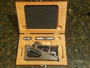Starrett No 995 Inspection Planer Gauge Scribe With Wood Case