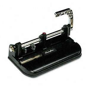 Swingline 40 sheet Lever Action Accented Heavy duty Punch
