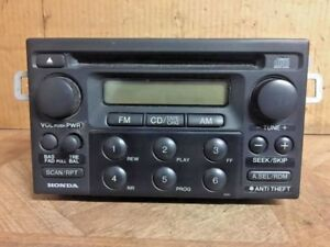 Honda Civic Audio Radio Cd Changer Dash Mounted 39100 s84 a201 2000 2005 Used Fs