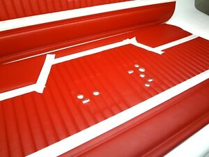 Chevelle 1970 1971 1972 Red Door Panels New Reproductions By Legendary Interiors