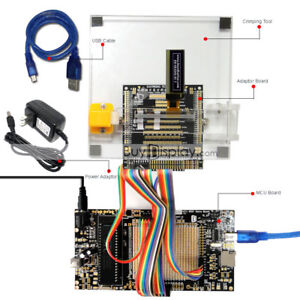 8051 Microcontroller Development Board Kit Usb Programmer For 0 91 oled Display