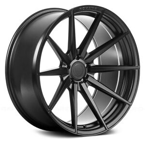 Porsche Cayenne 03 18 Rohana Rf1 Wheels 20x9 45 5x130 Black Rims Set Of 4