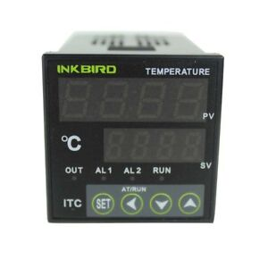 Temperature Controller Ac 100 220v Itc 100vh Outlet Digital Pid Thermostat