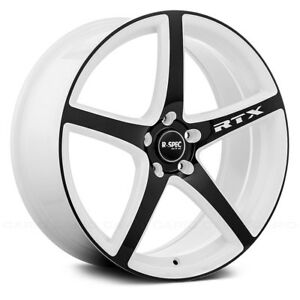 For Toyota Tacoma 05 17 Rtx Illusion Wheels 18x8 45 5x114 3 Rims Set Of 4