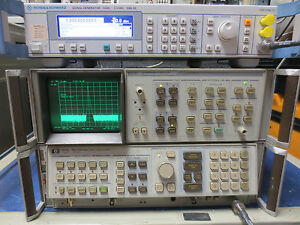 Hp Agilent 8568b Spectrum Analyzer 100hz To 1 5ghz bottom Section Only