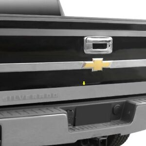 For Chevy Silverado 1500 Ld 2019 Saa Rt54181 Polished Lower Tailgate Trim