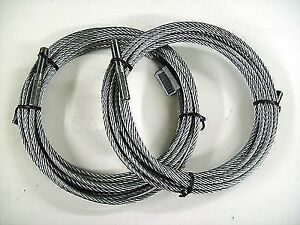 2 Rotary Lifts Equalizing Cables Part Fj7450 Brand New Oem Parts Set