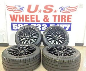 2016 Ford Mustang Gt 19 Rims Wheels Tires Oem Factory Staggered Original 4set