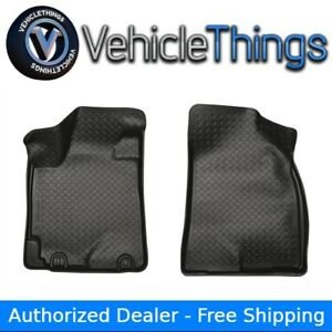 Husky Liners 35881 Classic Floor Mats Front Row Black For Toyota Highlander