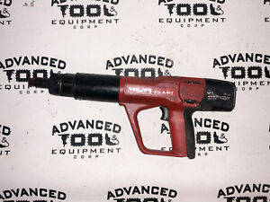 Hilti Dx a41 Powder Actuated Fastening Systems Nail Variable Power Gun