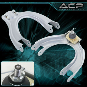 90 93 Integra 88 91 Crx Jdm Front Upper Adjustable Camber Arm A Arm Kit Silver