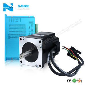 Nema 34 Close loop Servo Stepper Motor 8 5n m With Driver Kit For Cnc Router