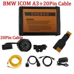 Fit For Bmw Icom A3 Professional Diagnostic Tool Hardware V1 38 With 20pin Cable