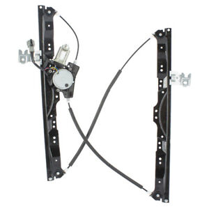 Front Drivers Power Window Lift Regulator W Motor For Armada Qx56 Titan Pickup