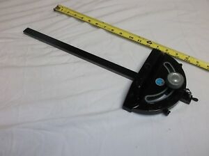 DeltaRockwell Table Saw Miter Gauge 34 X 38 Slot-Nice!