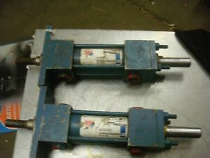 Lot Of 2 Rexroth Pneumatic Cylinder Mdf1 mx2 ph P 177660 Free Shipping