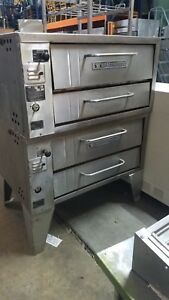 Bakers Pride 152 Double Stack Deck Ovens Natural Gas 90 Day Warranty