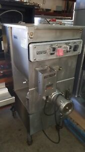 Late Model Hobart Meat Mixer Grinder With Foot Pedal 4246 5hp 90 Day Warranty