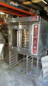 Bakers Aid Mini Rack Oven 220v 1 Phase 90 Day Warranty