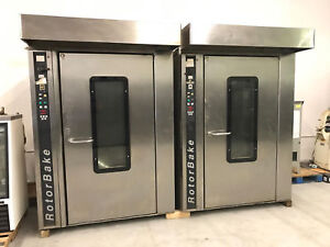 Bake Off Rotorbake T14 Double Rack Oven nat Gas 90 Day Warranty 2 Available