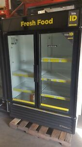 True 2 Door Freezer Glass Door 90 Day Warranty T 49f