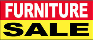 Furniture Sale Vinyl Banner Sign 3x10 Ft Ryb