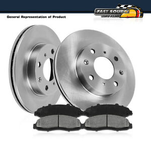 Front Rotors Metallic Pads For 1998 1999 2002 Toyota Corolla Chevy Prizm