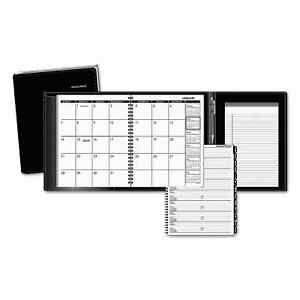 At a glance Plus Monthly Planner 6 7 8 X 8 3 4 Black 2018