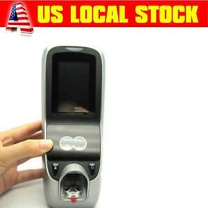 3 Face Fingerprint Attendance Access Control Time Clock Facial Recognition