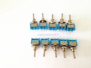 50pcs New Mts 103 Toggle Switch On off on 3 Position