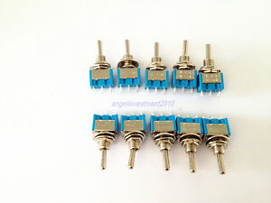 100pcs New Mts 103 Toggle Switch On off on 3 Position