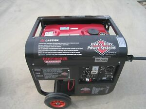 hdg9000er Tri Fuel Generator Gasoline propane natural Gas H D Power new