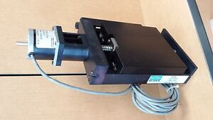 Micro Slides Positioning Stage M150a 050pb W Step Motor Limits And Coupling