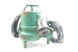 Hydromatic Sk50m1 Submersible Sump Sewage Pump 2in 0 4hp 115v ac