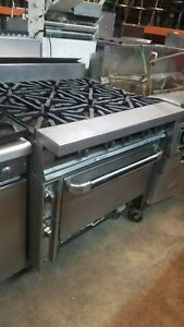Vulcan 6 Burner Range With Convection Oven lp Or Nat Gas 90 Day Warranty