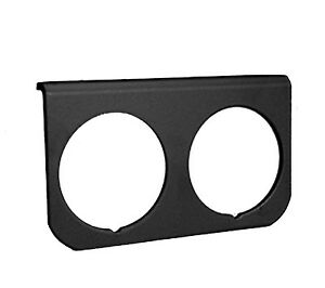 Autometer 2 Hole Black Gauge Panel Mount Mounting 2 1 16 52mm