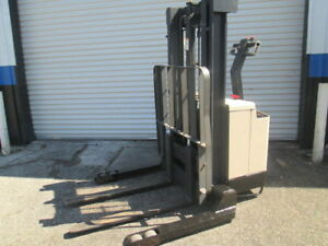 Crown 40wtl Electric 24v Walk Behind Forklift Pallet Jack Walkie Stacker 4000lbs